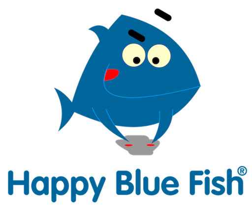 Happy Blue Fish